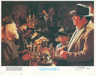 Gremlins [LOBBY CARDS]. Chris COLUMBUS, writer, Joe DANTE, director, Steven SPIELBERG, executive...