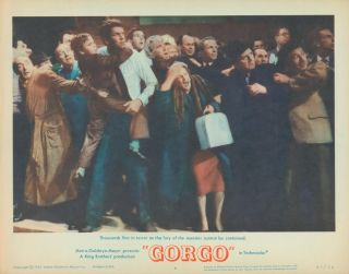 Gorgo [LOBBY CARDS]. Eugene LOURIE, director, Daniel JAMES, Robert L. RICHARDS, writers, Frank...