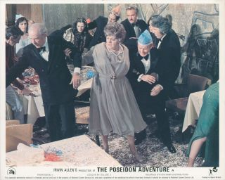 The Poseidon Adventure [LOBBY CARDS]. Ronald NEAME, director, Stirling SILLIPHANT, Wendell MAYES,...