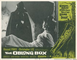 The Oblong Box [LOBBY CARDS]. Lawrence HUNTINGDON, writer, Gordon HESSLER, director, producer,...