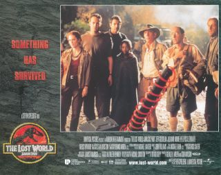The Lost World: Jurassic Park [LOBBY CARDS]. David KOEPP, writer, Steven SPIELBERG, director,...