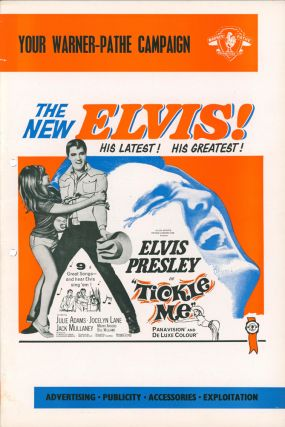 Tickle Me [MOVIE CAMPAIGN BROCHURE]. [Elvis Presley]. Norman TAUROG, director, Elwood ULLMAN,...