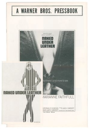 Naked Under Leather [MOVIE CAMPAIGN BROCHURE]. [The Girl on a Motorcycle]. Ronald DUNCAN, writer,...
