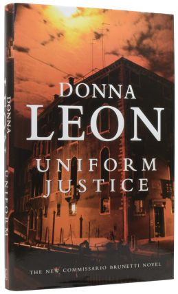 Uniform Justice. Donna LEON, born 1942