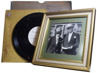 Sir Malcolm and Donald Campbell Photographic Archive and Long-Play Record, including] World Water...