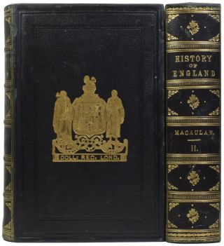 The History of England. From the Accession to James the Second