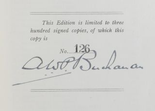 The Buchanan Book: The Life of Alexander Buchanan, Q.C., of Montreal, followed by an account of the Family of Buchanan.