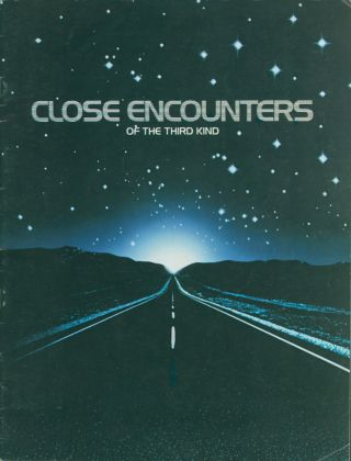 Close Encounters of the third Kind [Film Campaign Brochure]. ANONYMOUS