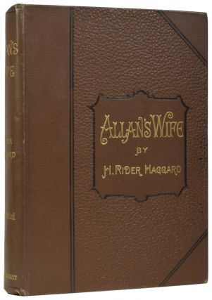 Allan's Wife. And Other Tales. Maurice GREIFFENHAGEN, Charles KERR, illustrators, Henry Rider...