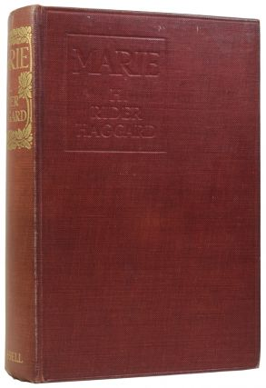 Marie. Henry Rider HAGGARD, Sir, A. C. MICHAEL