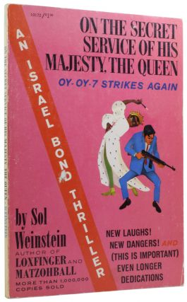 On the Secret Service of His Majesty, The Queen. An Israel Bond Thriller. Ian Fleming / Bondiana,...