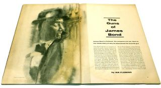'The Guns of James Bond' contained within 'Sports Illustrated' Magazine Vol 16, No.11, 19th...