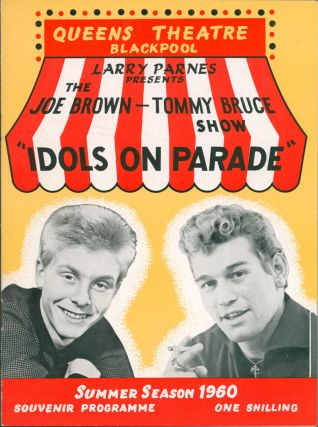 """The Big Star Show 1962; 1963; 1964; 1965 [and] The Mammoth Star Show 1962 [and] The Sunday Big Beat Show 1964; 1965 [and] Your Lucky Stars 1963; 1964 [and] The Marty Wilde Show and the Big Beat Show 1959 [and] The Joe Brown - Tommy Bruce Show """"Idols on Parade"""" 1960 [and] The Marty Wilde Show 1959 [and] Tom Arnold's Summer Revue 1965 [Souvenir Programmes]."""