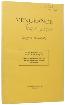 Rogue Justice] Vengeance. Geoffrey HOUSEHOLD