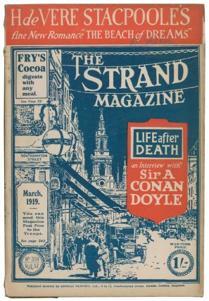 """The Beach of Dreams [and] Cambrai: The Second Phase [and] What People Laugh At! [and] """"Tickets, Please!"""" [and] The Official Mind [and] The Magnificent Ensign Smith [in] The Strand Magazine. Volume 57, numbers 338 to 343."""