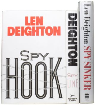 Hook, Line and Sinker Trilogy. Spy Hook; Spy Line; Spy Sinker. Len DEIGHTON, born 1929