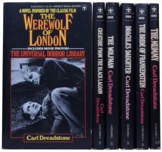Complete Universal Horror Library. The Werewolf of London; Creature from the Black Lagoon; The...