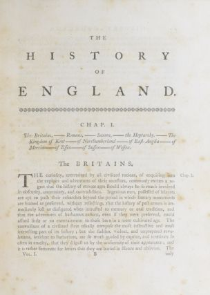 The History of England, from the Invasion of Julius Caesar to the Accession of Henry VII; under the House of Tudor; the Revolution in 1688.
