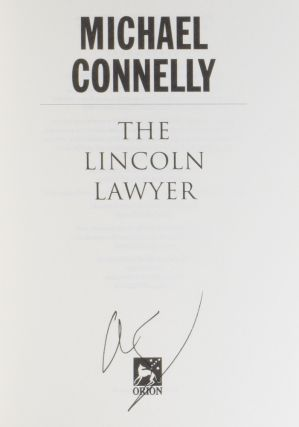 The Lincoln Lawyer.