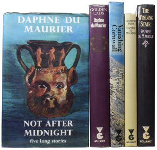 [An Archive of Books and Letters Inscribed to John Reece]. The Daphne du Maurier Tandem (My Cousin Rachel and Mary Anne); The Scapegoat; The Flight of the Falcon; The House on the Strand; Vanishing Cornwall; The Apple Tree; The Breaking Point; Not After Midnight; The Progress of Julius; Golden Lads; The Winding Stair; Growing Pains.
