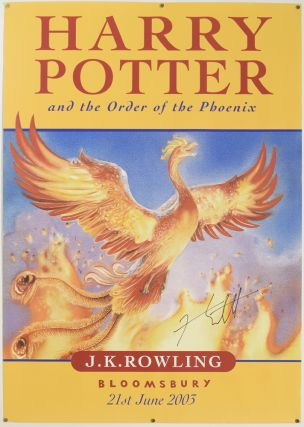 [Book Promotion POSTER] Harry Potter and the Order of the Phoenix.